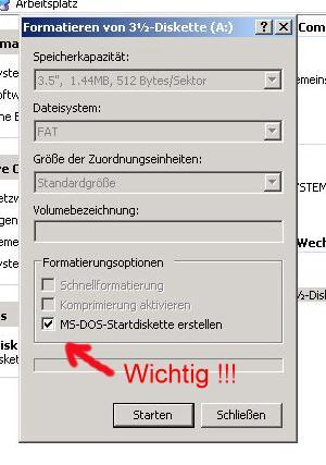 windows xp startdiskette bild2