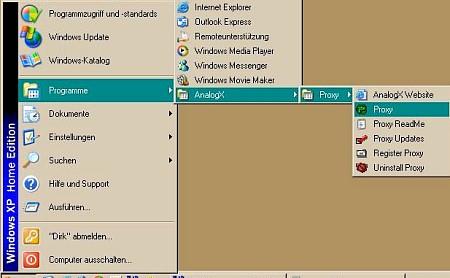 AnalogX Proxy Installation