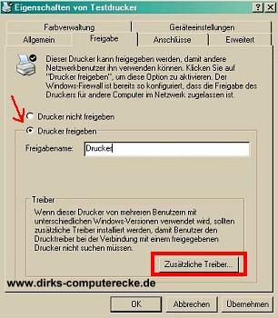 Drucker Name festlegen