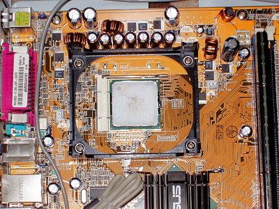 Mainboard Prozessor einbauen