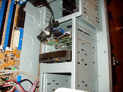 Mainboard Floppy anschließen