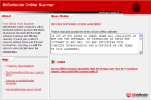 Online Virenscan