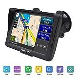 AWESAFE Auto Navigation GPS 7 Zoll Touchscreen Navigationsgerät Navigationsystem mit Lebenslangen Kostenlosen Kartenupdates für Taxi Kfz LKW PKW in 52 Ländern