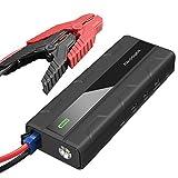 Powerbank Starthilfe RAVPower 14000mAh mit 1000A Spitzenstrom Autobatterie Anlasser 12V, Ladegerät...