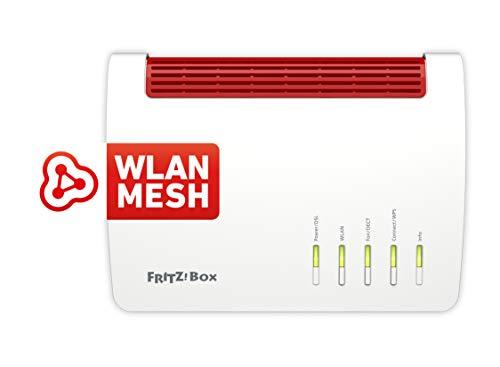AVM FRITZ!Box 7590 WLAN AC+N Router (DSL/VDSL,1.733 MBit/s (5GHz) & 800 MBit/s (2,4 GHz), bis zu 300...