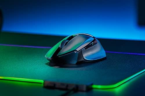 Razer Basilisk X Hyperspeed - Kabellose Gaming Maus mit bis zu 450 Stunden Akku für PC/Mac...