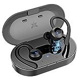 Axloie Bluetooth Kopfhörer In Ear Sport IPX7 Wasserdicht Sport Kopfhörer kabellose In Ear 25 Stunden...