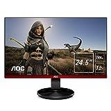 AOC G2590FX 62 cm (24,5 Zoll) Monitor (HDMI, DisplayPort, 1 ms Reaktionszeit, 1920 x 1080, 144 Hz)...