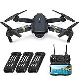EACHINE E58 Drohne mit Kamera 720P HD Kamera, Live...