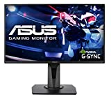 Asus VG258Q 64,8 cm (25,5 Zoll) Monitor (DVI, HDMI, DisplayPort, G-Sync Compatible, 1ms...