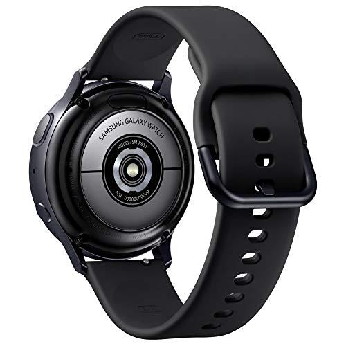Samsung Galaxy Watch Active 2 Smartwatch, schwarz, 40 mm, Aluminium
