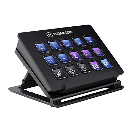 Elgato Stream Deck - Live Content Creation Controller mit personaliserbaren LCD-Tasten,...