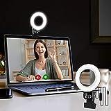Video Konferenz-Beleuchtungsset, Beleuchtung für Monitor-Clip-On, für Fernarbeit, Fernunterricht,...