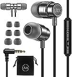 ULIX Rider In Ear Kopfhörer Mit Kabel - Ohrhörer Mit Mikrofon - 3 Jahre Garantie, 48-Ω-Treiber...