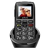 artfone C1+ Seniorenhandy ohne Vertrag | Dual SIM Handy mit Notruftaste | Rentner Handy große...