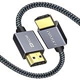 HDMI Kabel 2M, iVANKY 4K Highspeed HDMI 2.0 Kabel 4K@60Hz 18Gbps Unterstützt HDR, ARC 3D, UHD, HD,...