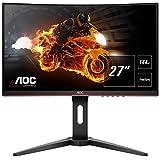 AOC Gaming C27G1 - 27 Zoll FHD Curved Monitor, 144 Hz, 1ms, FreeSync Premium (1920x1080, HDMI,...