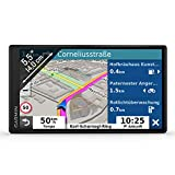 Garmin DriveSmart 55 MT-D EU Navi - Rahmenloses Touch-Display, 3D-Navigationskarten und Live-Traffic...