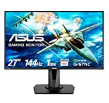 Asus VG278Q 68,65 cm (27 Zoll) Monitor (HDMI, DisplayPort, Full HD, FreeSync, G-Sync Compatible, 1ms...