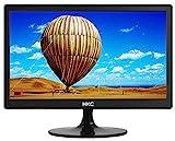 HKC MR17S HD Monitor 17 Zoll (HD Ready 1.600 x 900, HDMI, VGA, TN Panel, 60Hz), schwarz