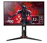 AOC Gaming 24G2U5/BK 60 cm (23,8 Zoll) Monitor (FHD, HDMI, DisplayPort, Free-Sync, 1ms...