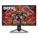 BenQ MOBIUZ EX2710 68,58 cm (27 Zoll) Gaming Monitor (IPS, FHD, 144Hz, 1ms, Höhenverstellbar,...