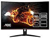 AOC Gaming CQ32G1 80 cm (31.5 Zoll) Curved Monitor (HDMI, DisplayPort, 2560x1440@144 Hz, 1 ms,...