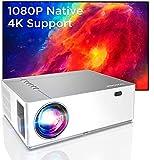 BOMAKER UHD 4K Beamer, 7200 Native Full HD 1080P LED Beamer, 300 inch Display, Zoom ±50°Elektronische...