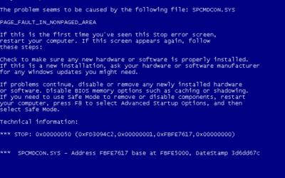 Bluescreen unter Windows