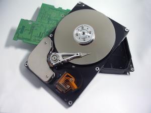 Informationen zur Festplatte