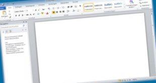 microsoft word 2012 Screenshot