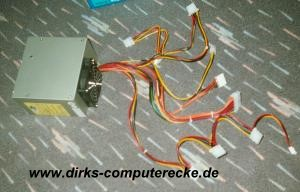 Netzteil mit Kabelsträngen