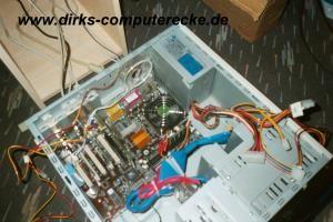 Netzteil im PC-Gehäuse