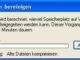 Systemwiederherstellung - Datenträger bereinigen