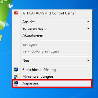 Windows 7 Hintergrundbild ändern