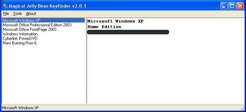 Seriennummer von Windows und anderer Software auslesen