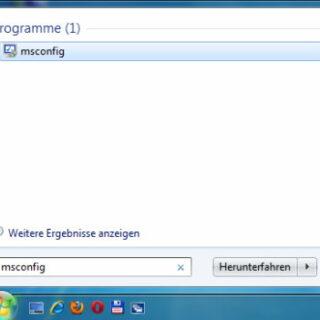 Windows 7 Autostart aufräumen mit msconfig