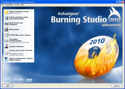 Ashampoo Burning Studio 2010 Advanced