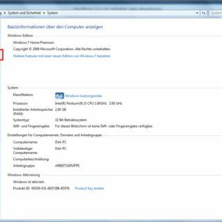 Windows 7: Auslagerungsdatei auf eine andere Partition verschieben