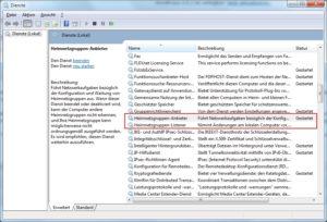 Windows 7 Heimnetzwerk löschen bzw. deaktivieren