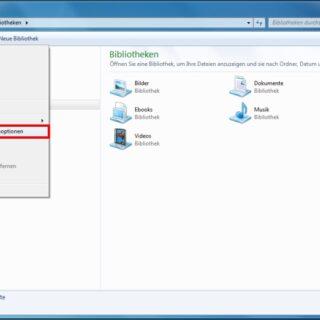 Windows 7: Dateiendungen immer anzeigen