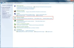 Windows 7 automatische Updates