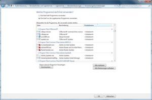 Windows 7 Kindersicherung und Jugendschutz: Bestimmte Programme sperren
