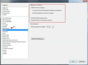 PDF-Dateien immer im Adobe Reader öffnen