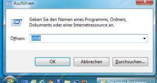 Windows 7 Eingabeaufforderung öffnen