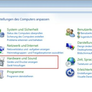 Windows 7: Mauszeiger ändern und Farbe anpassen