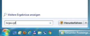 Netzwerkverbindungen bei Windows 7 schneller öffnen
