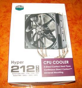 Hyper 212 EVO Verpackung Frontseite