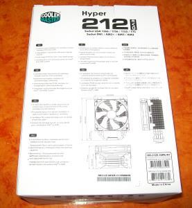 Hyper 212 EVO Verpackung Rückseite