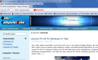Firefox Protokoll anzeigen Bild 1